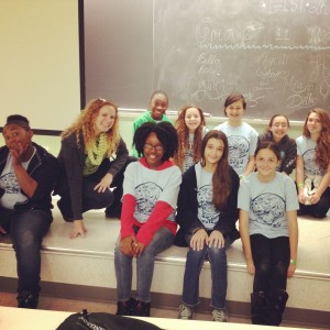 Girls In Science, Technology and Medicine (GIST) event at Tulane, Fall 2014